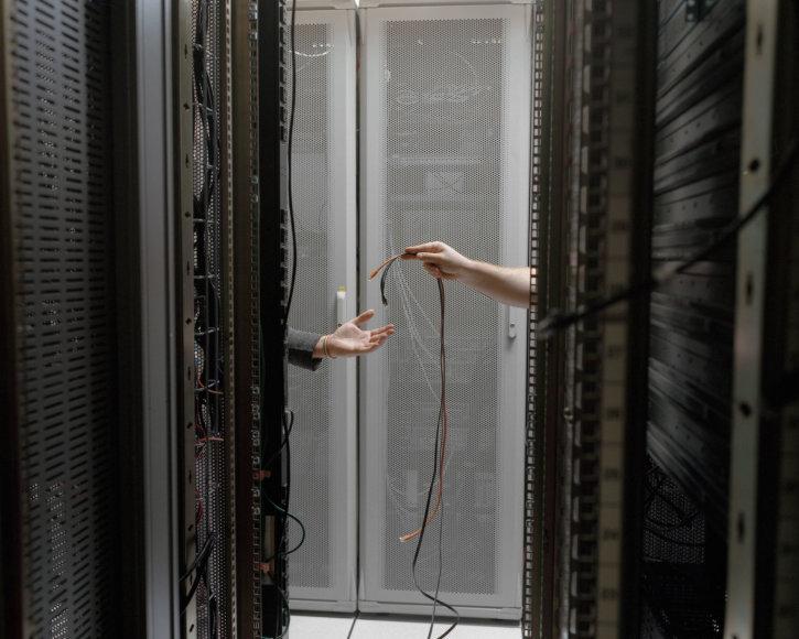 Serverių kolokacijos duomenų centras Manhatane