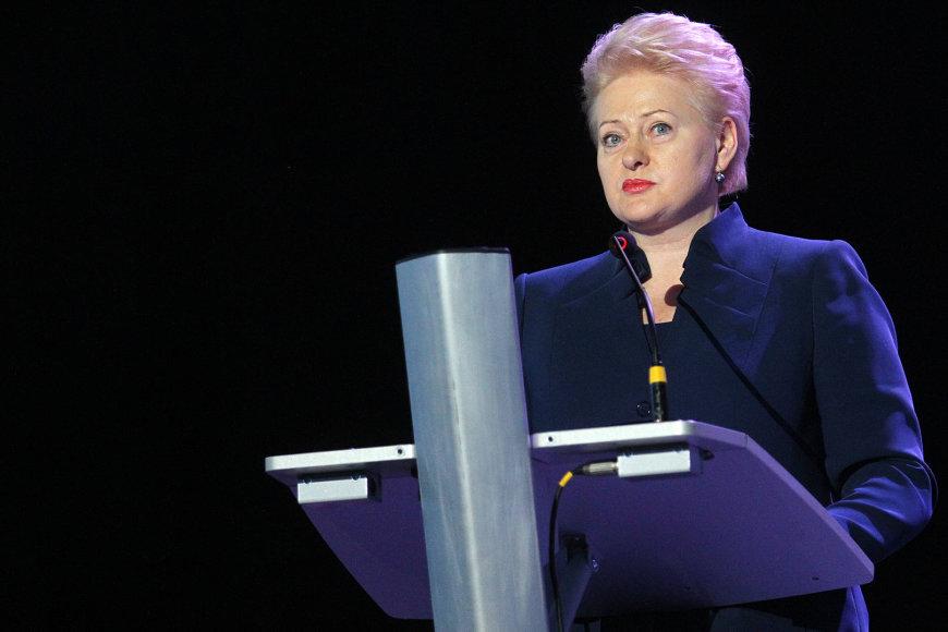 """Dalia Grybauskaitė KTU studentams: """"Esate nauja, graži laisvos Lietuvos karta"""""""