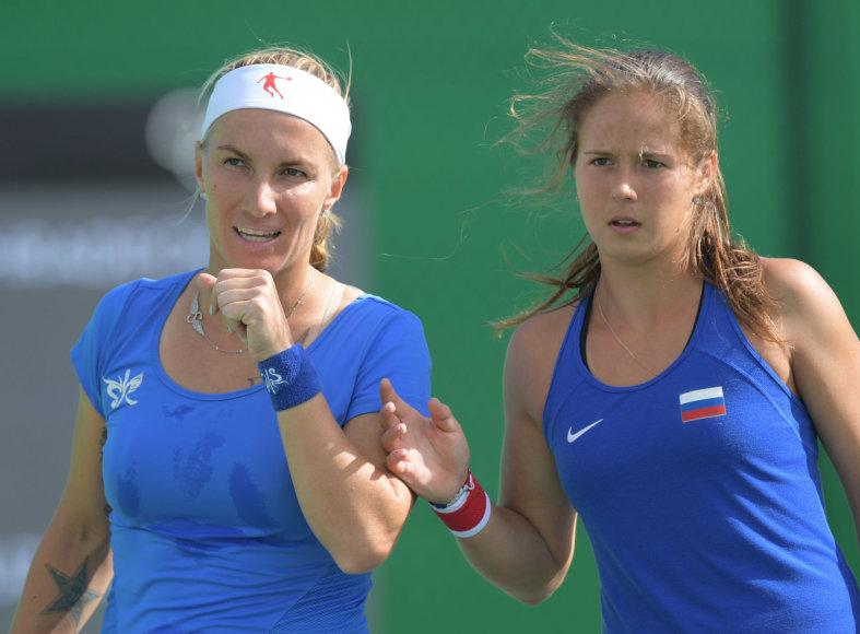Svetlana Kuznecova ir Darija Kasatkina