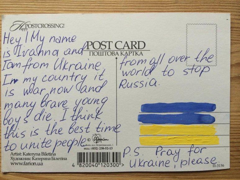 Atvirutė iš Ukrainos