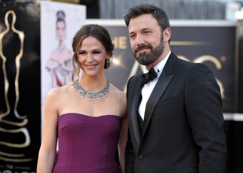 Benas Affleckas ir Jennifer Garner (2013 m.)
