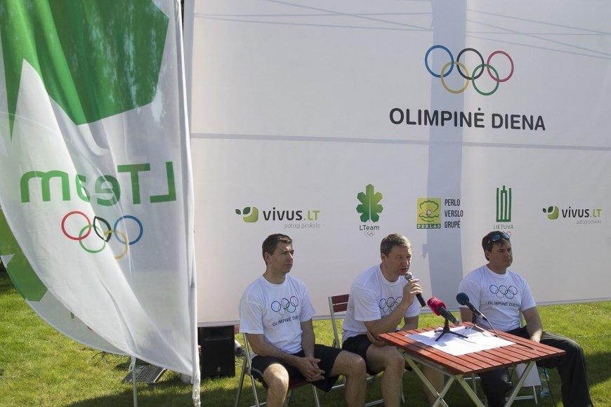 Olimpinės dienos pristatymas