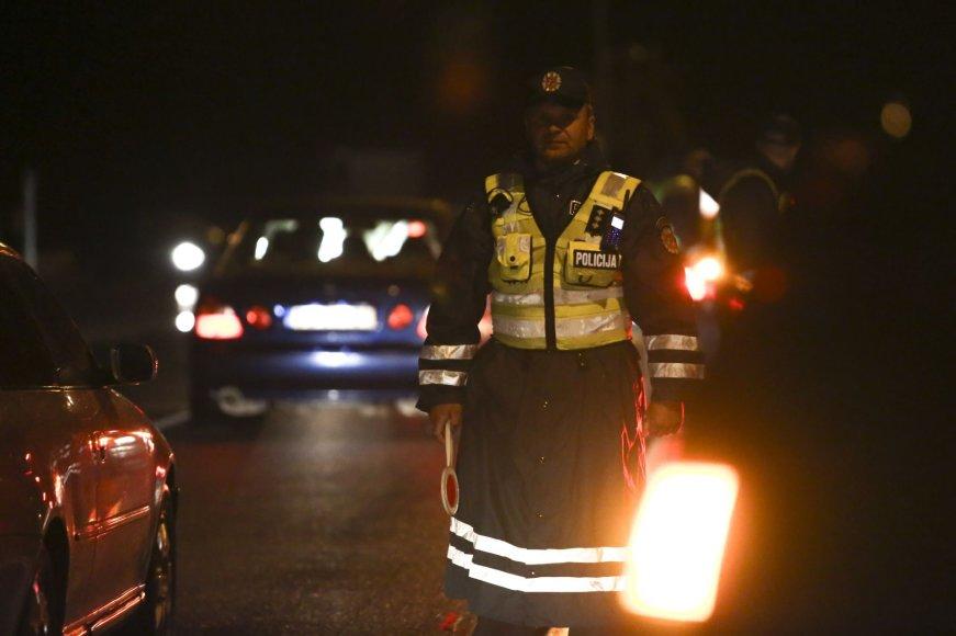 Vilniaus policijos reidas po Joninių šventės