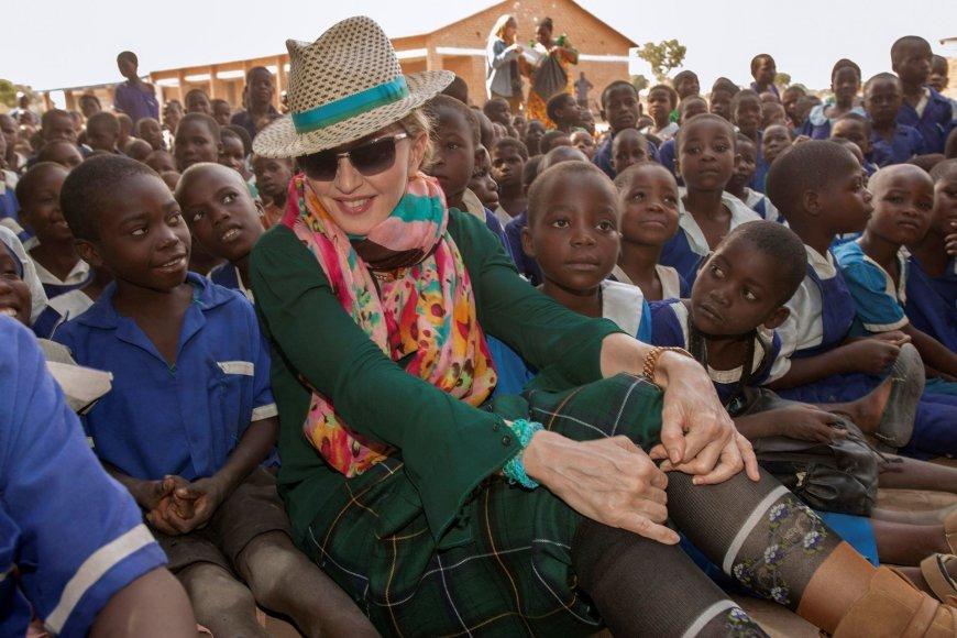 Madonna Malavyje 2014 metais