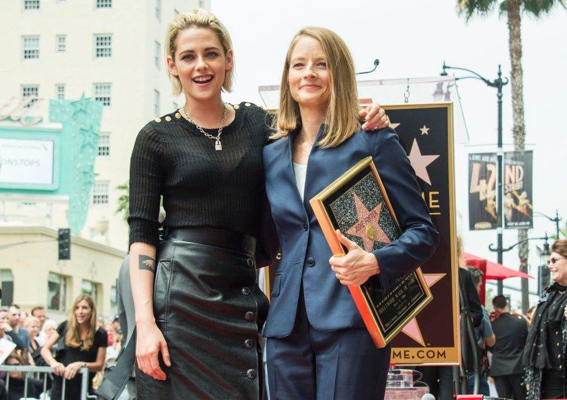 Kristen Stewart ir Jodie Foster
