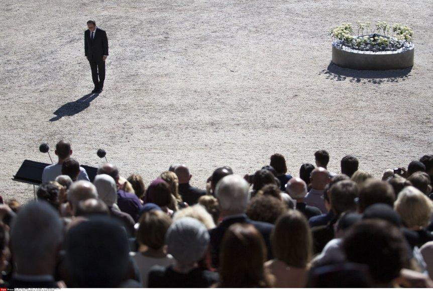 Nicos aukų pagerbimo ceremonija