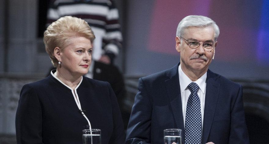 Dalia Grybauskaitė ir Zigmantas Balčytis