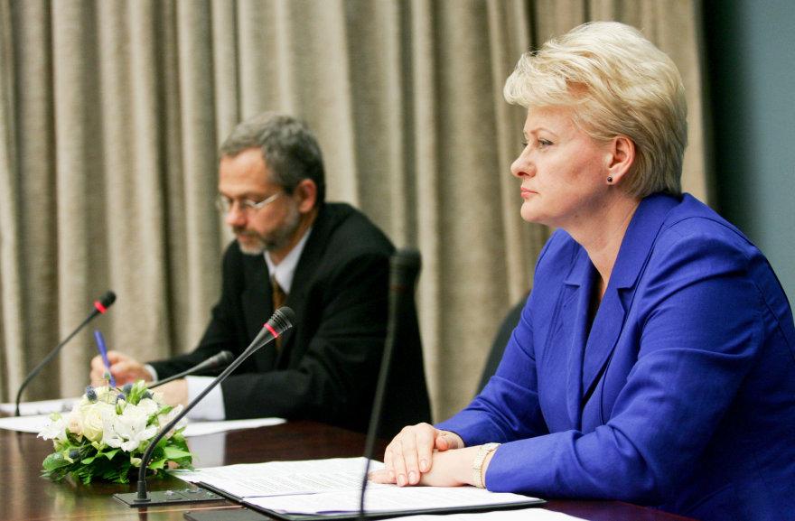 Dalia Grybauskaitė ir Linas Balsys