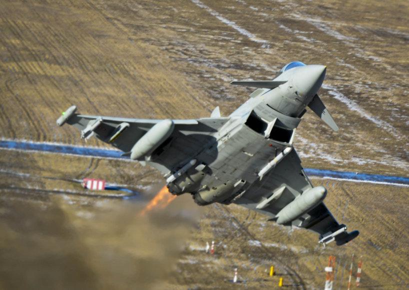 """""""Eurofighter Typhoon"""" naikintuvas"""