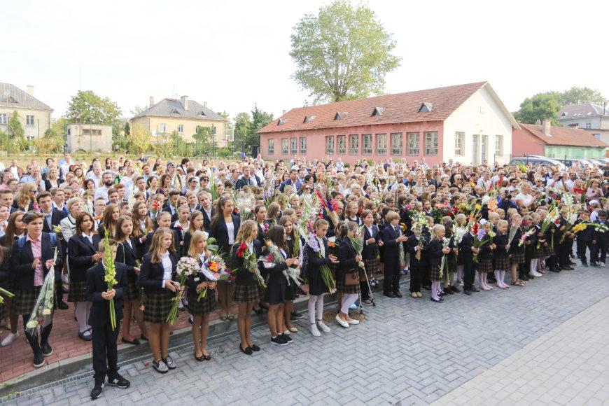 Rugsėjo 1-oji Šolomo Aleichemo ORT gimnazijoje