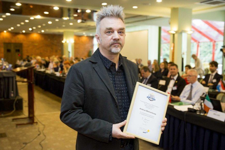 Europos gydytojų apdovanojimų akimirka