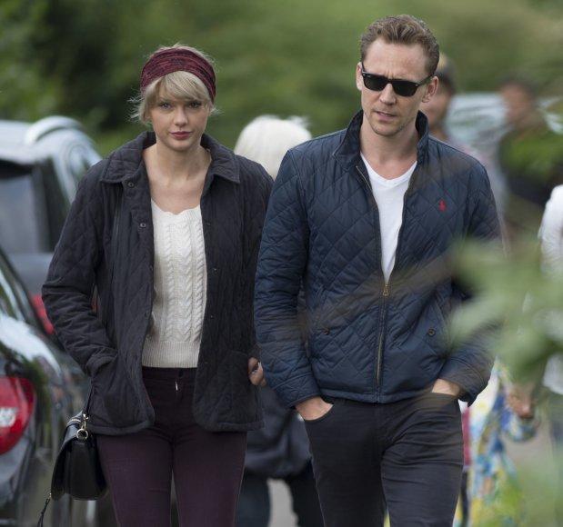 """Scanpix""/Xposurephotos.com nuotr./Taylor Swift ir Tomas Hiddlestonas"