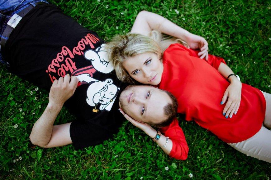 Asmeninė nuotr./Haroldas ir Deimantė Šklėriai