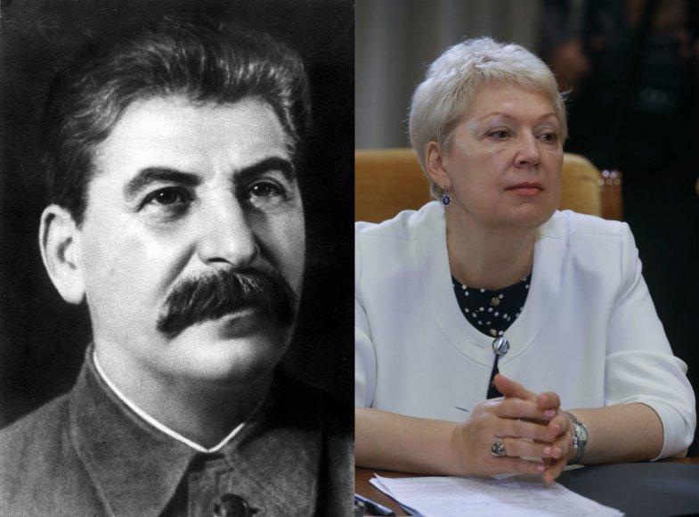 O.Vasiljeva mano, kad J.Stalinas buvo geras Sovietų Sąjungos lyderis