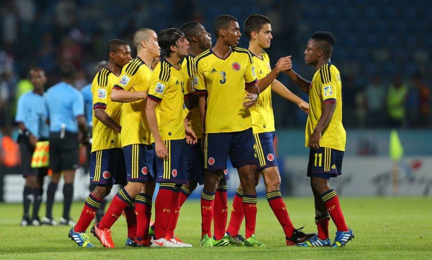 Kolumbijos futbolininkai