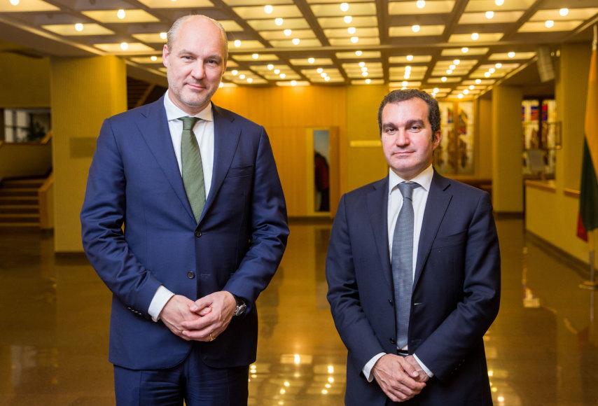 """""""Carlsberg"""" vadovų vizitas Lietuvoje"""