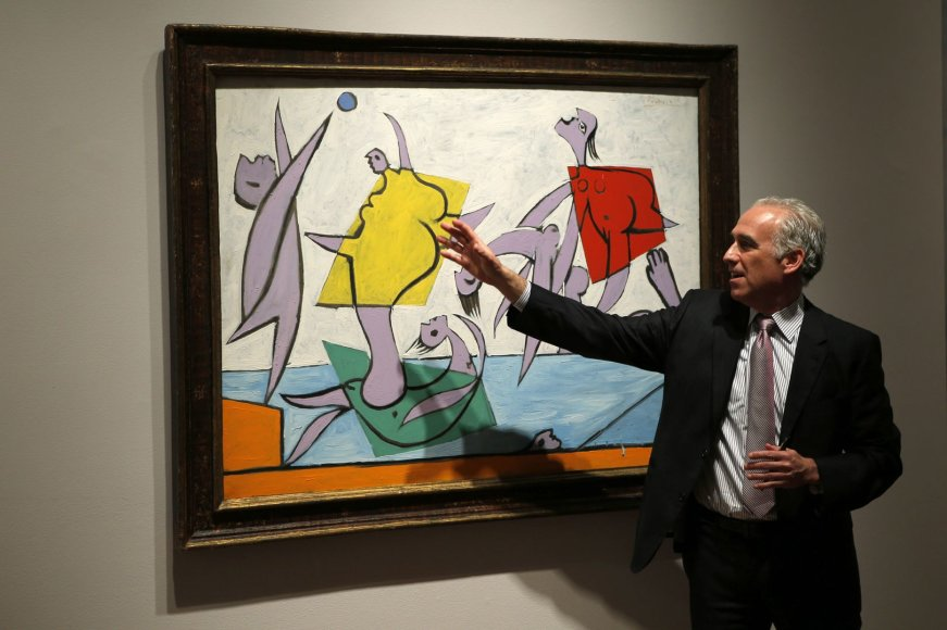 """Pablo Picasso paveikslas """"Le Sauvetage"""""""