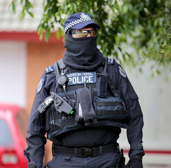 Australijos policininkas