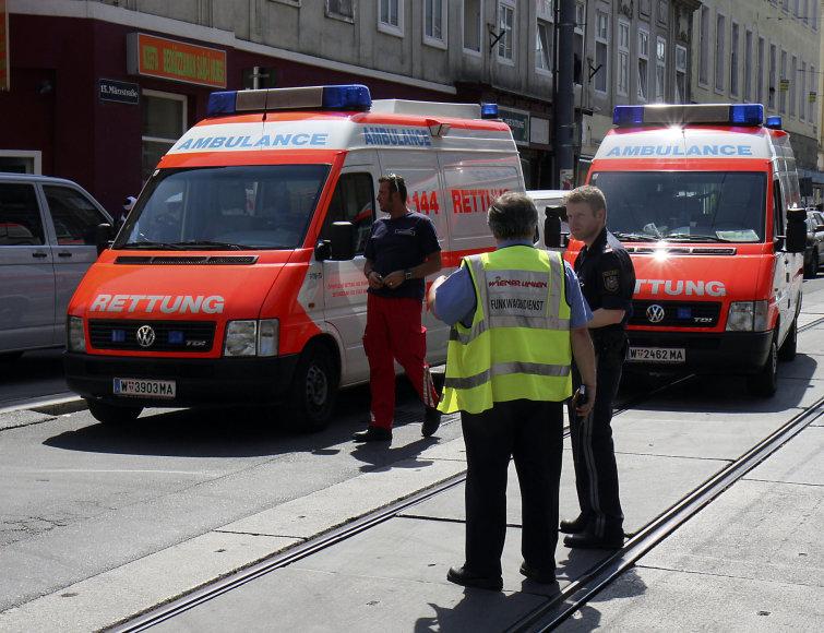 Asociatyvinė iliustracija: greitosios pagalbos automobiliai Austrijoje