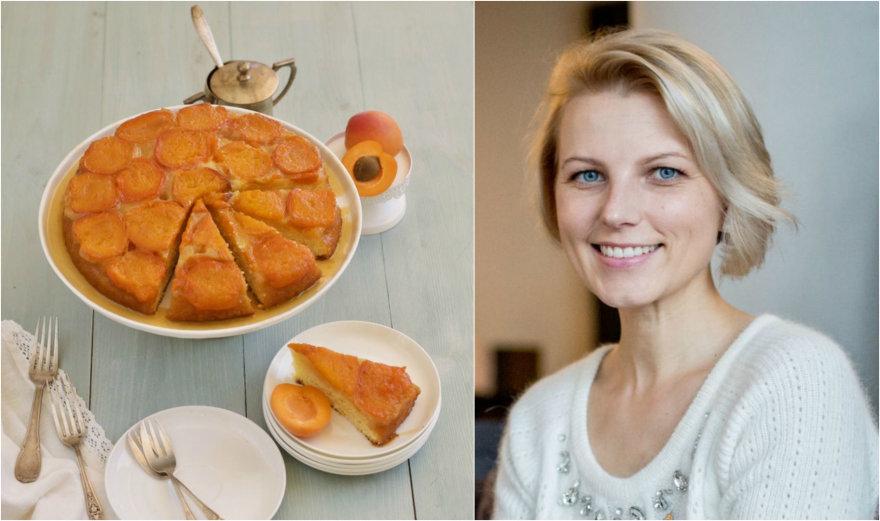 Dangira Šimašiutė ir jos keptas pyragas