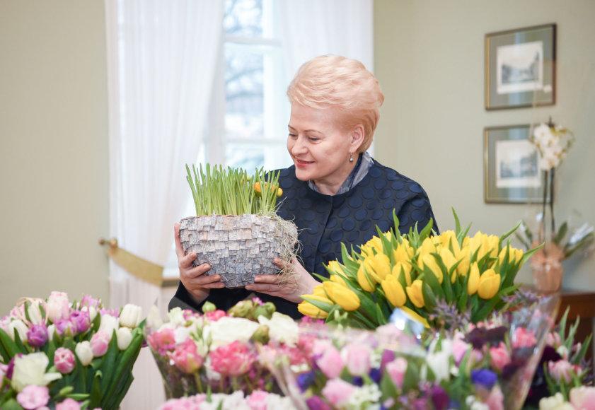 Dalia Grybauskaitė švenčia gimtadienį