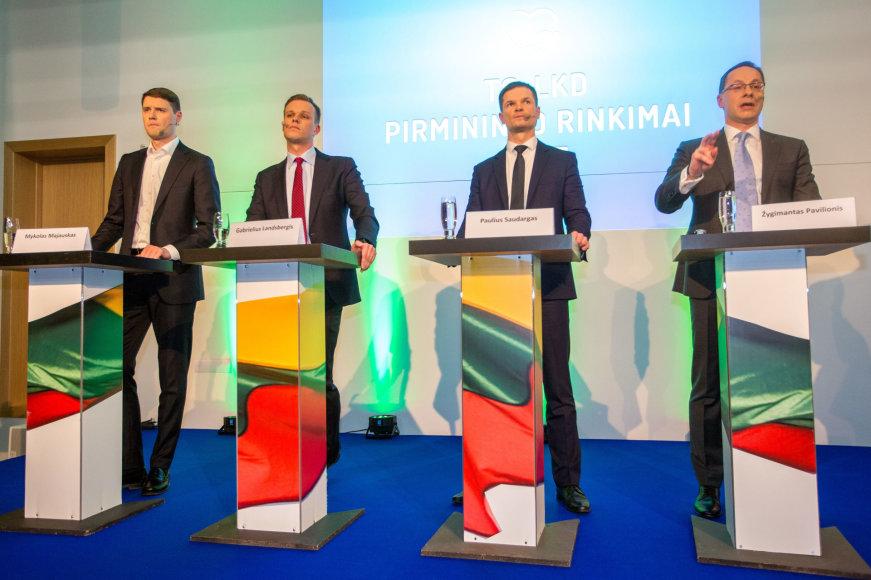 Tėvynės sąjungos-Lietuvos krikščionių demokratų (TS-LKD) pirmininko rinkimų debatai