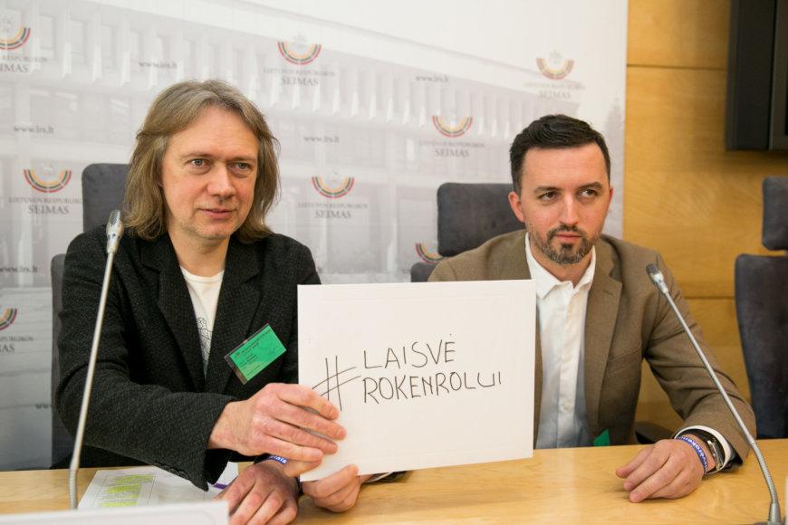 Juliaus Kalinsko / 15min nuotr./Algirdas Barniškis ir Lauras Lučiūnas