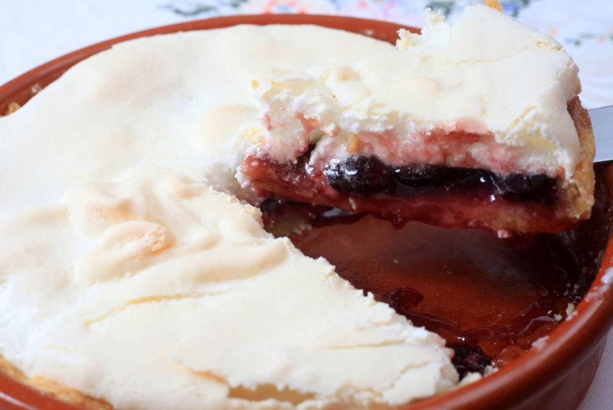 Pyragas su morengu
