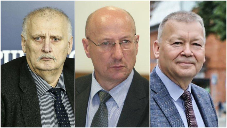 Ramutis Jancevičius, Visvaldas Račkauskas, Vytautas Grigaravičius