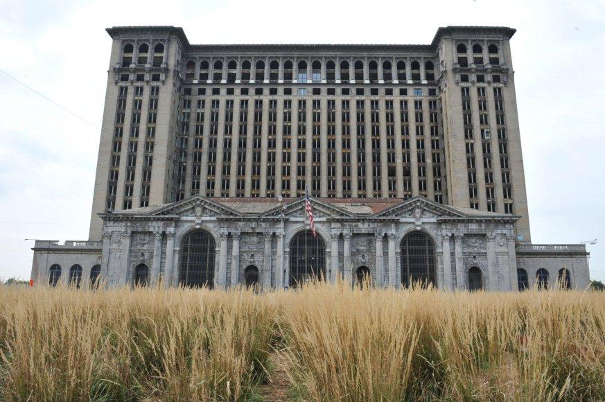 Bankrutavęs Detroito miestas