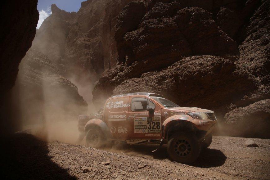 Trečioji Dakaro diena: Antanas Juknevičius