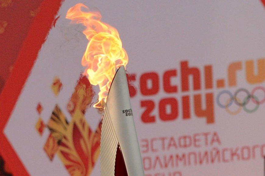 Sočio olimpinė ugnis