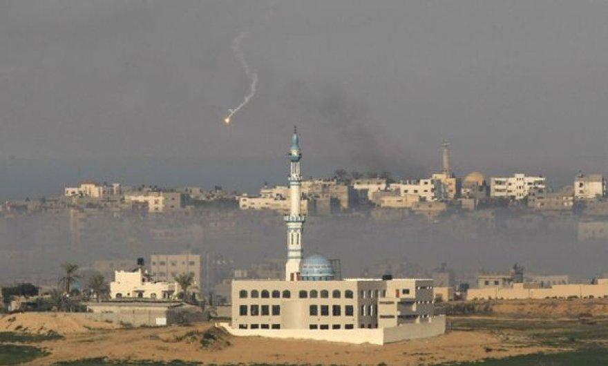 Atakuojamas Gazos ruožas