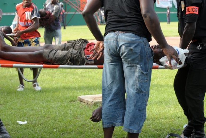 Kenijoje žuvo 7 futbolo aistruoliai