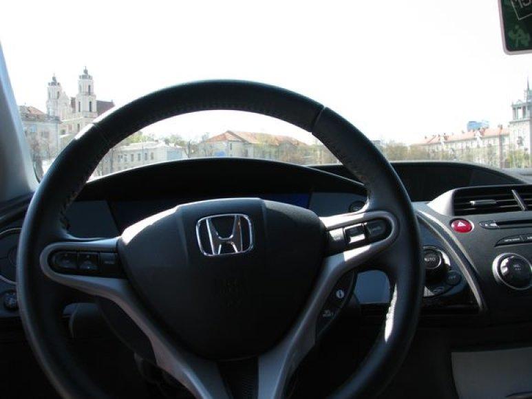 """Honda Civic"" interjeras"