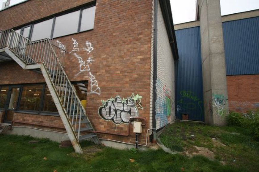 Grafiti ant sienos
