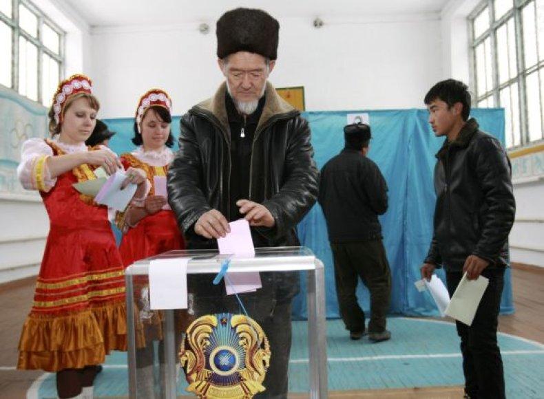 Kazachstanas renka pralamentą