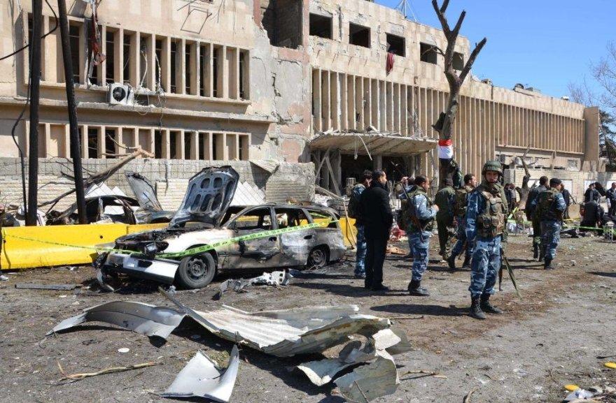 Sprogimas Damaske