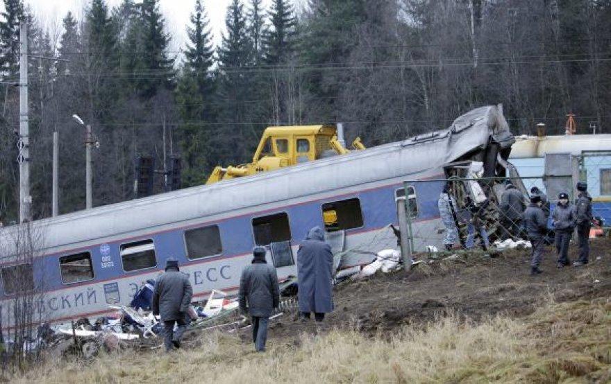 Traukinio Maskva – Peterburgas avarija