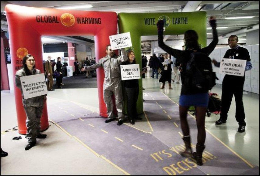 Kopenhagoje vyksta pasaulinės derybos dėl klimato