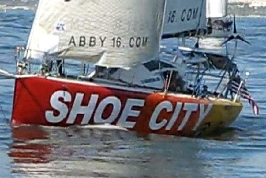 Abby Sunderland jachta