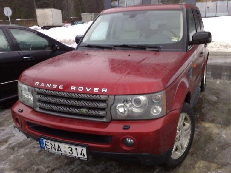 Fotopolicija. Range Rover