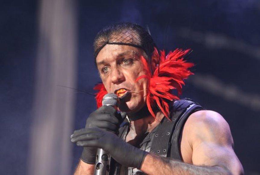 """""""Rammstein"""" šou Vilniuje"""
