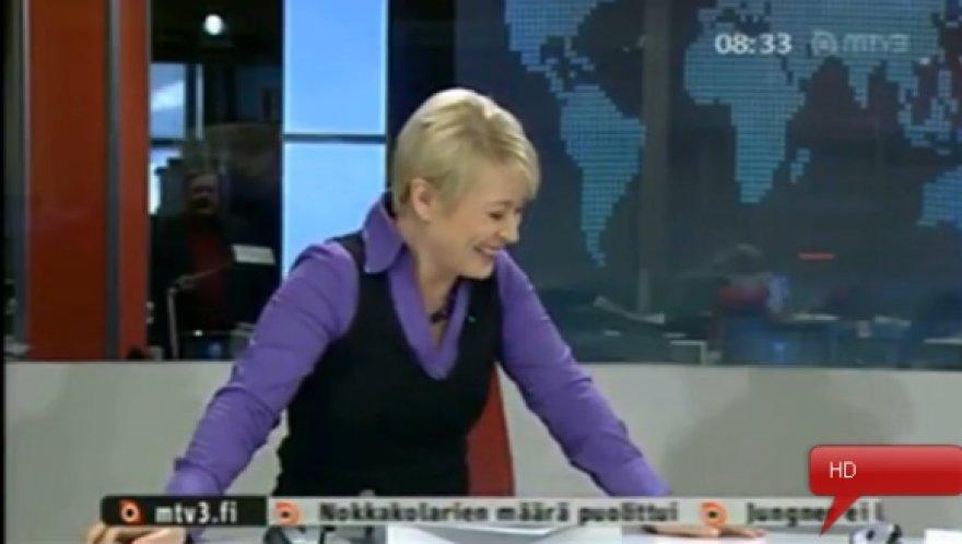 Suomijos TV laidų vedėja Kirsi Alm-Siira