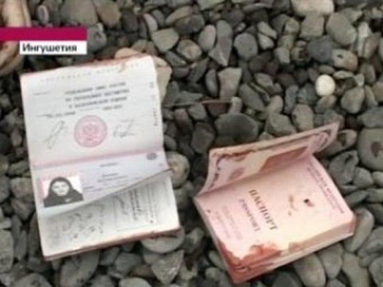 Ingušijos kovotojos dokumentai