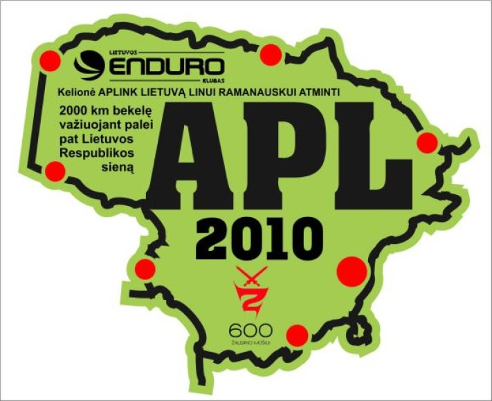 "Žygis motociklais ""Aplink Lietuvą 2010"""