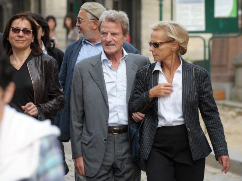 Bernardas Kouchneras su  Christine Ockrent