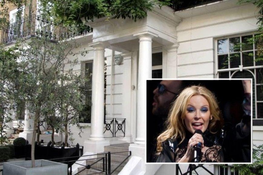 Kylie Minogue namas Londone