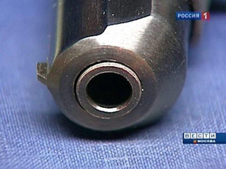 Šalia kūno rastas pistoletas