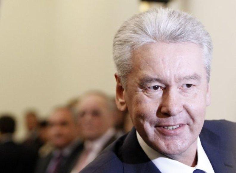 S.Sobjaninas, Maskvos meras